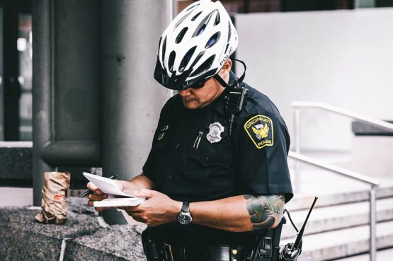 traffic offences officer